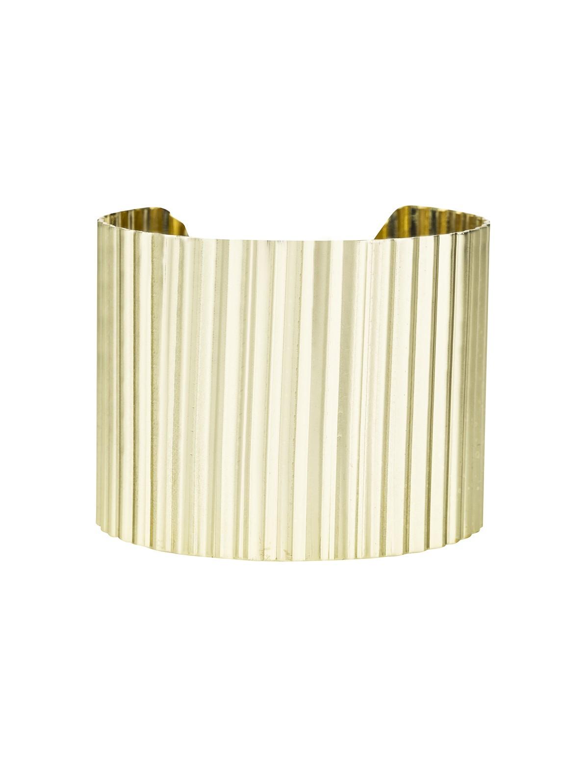 Corrugated Cuff Bracelet