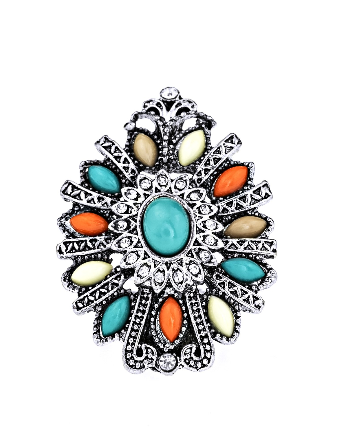 Navajo Style Stone Ring