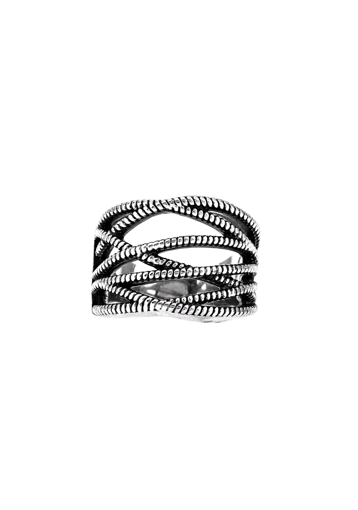 Zipper Ring-Silver