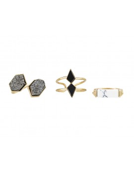Art Deco Ring Set