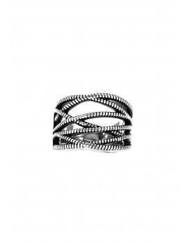 Zipper Ring-Silver