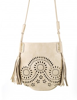 Cut-Out Cross Body Bag