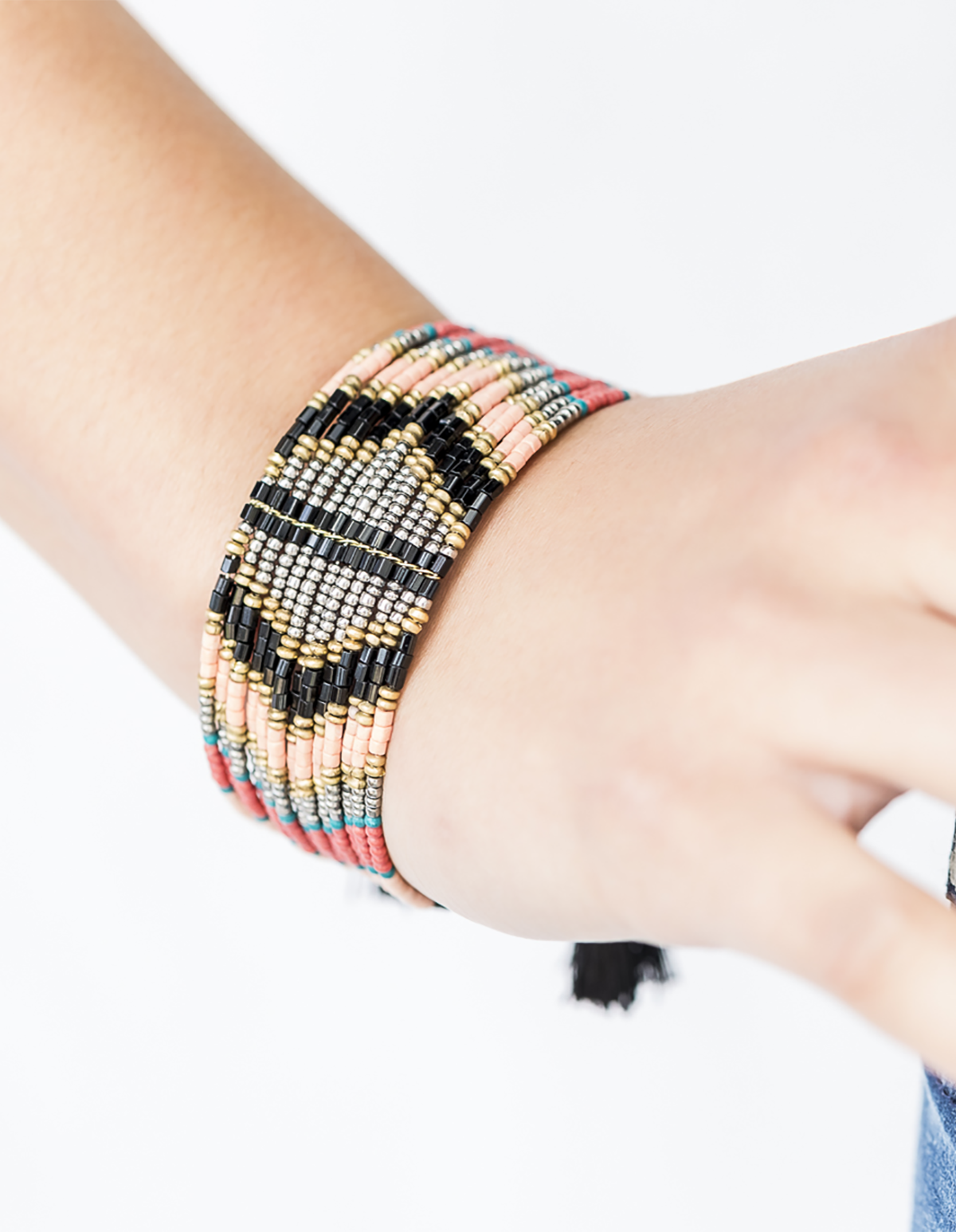 Tribal Beaded Bracelet