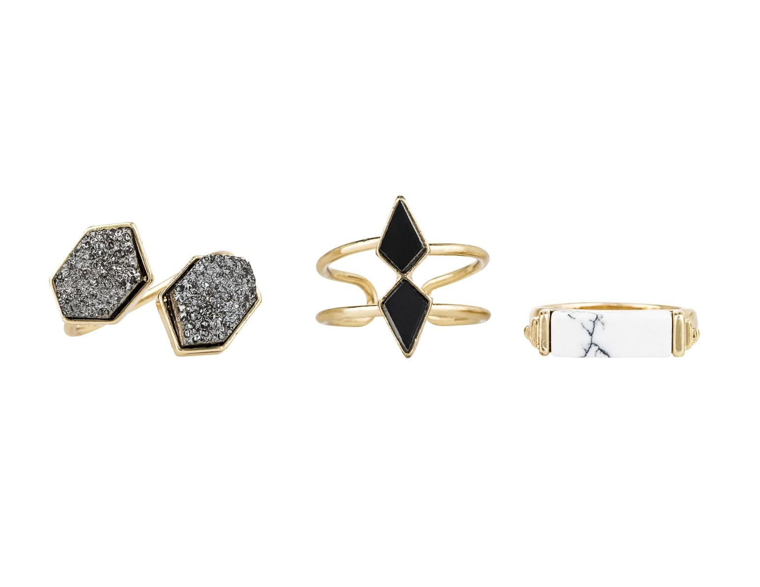 Art Deco Ring Set