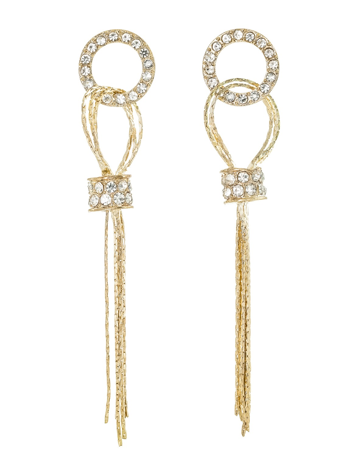 Looped Chain Earrings
