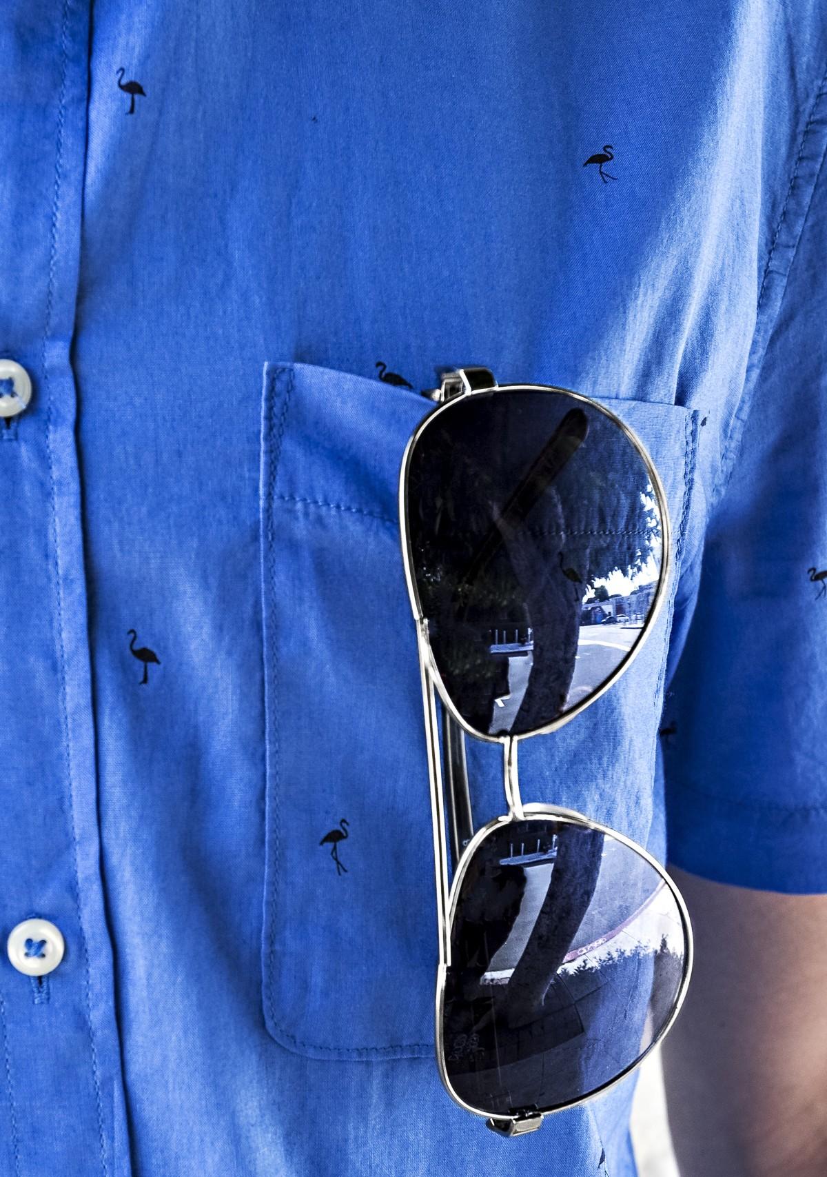 Aviator Gradient Lens Glasses