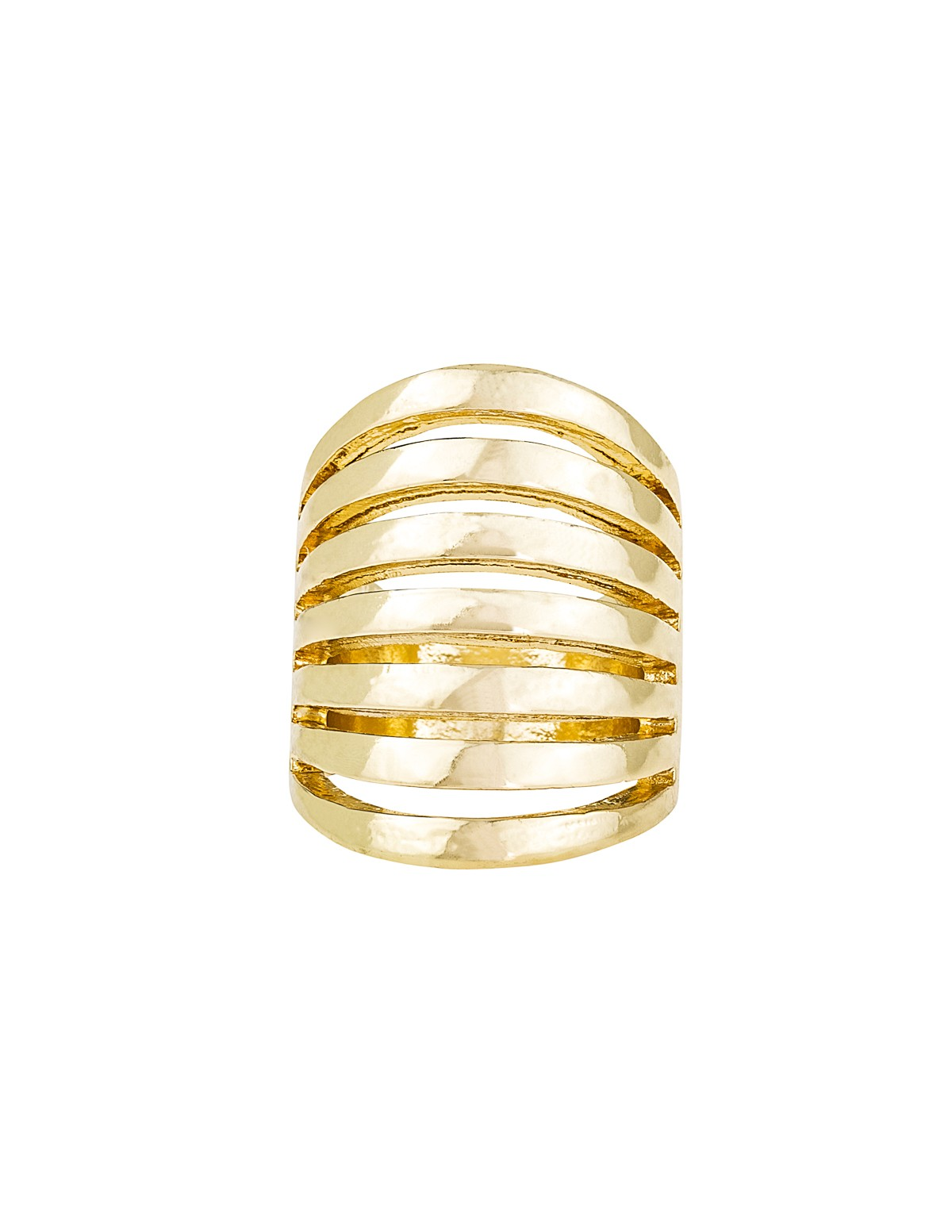 Layered Band Ring