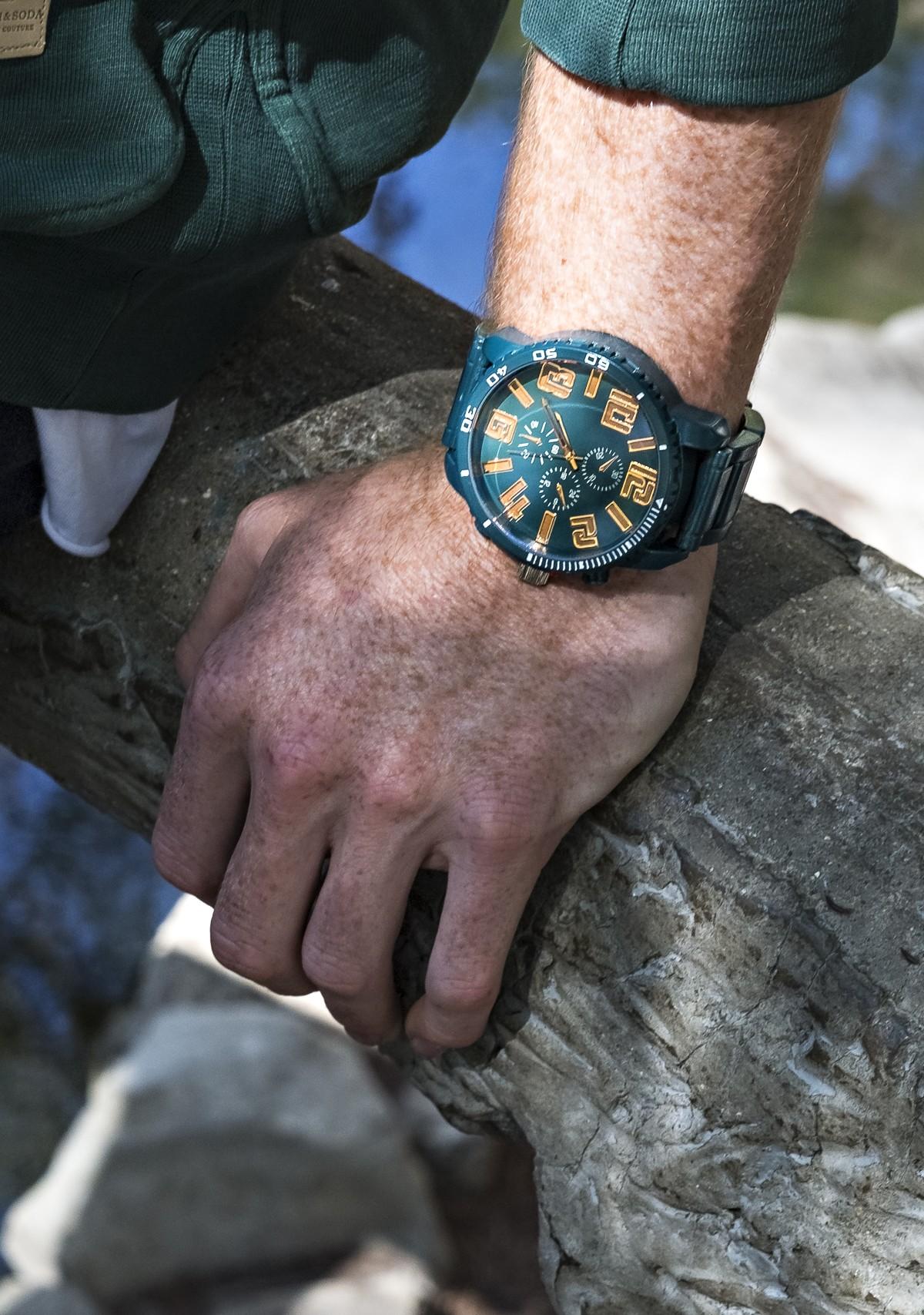 Bronze Number Watch