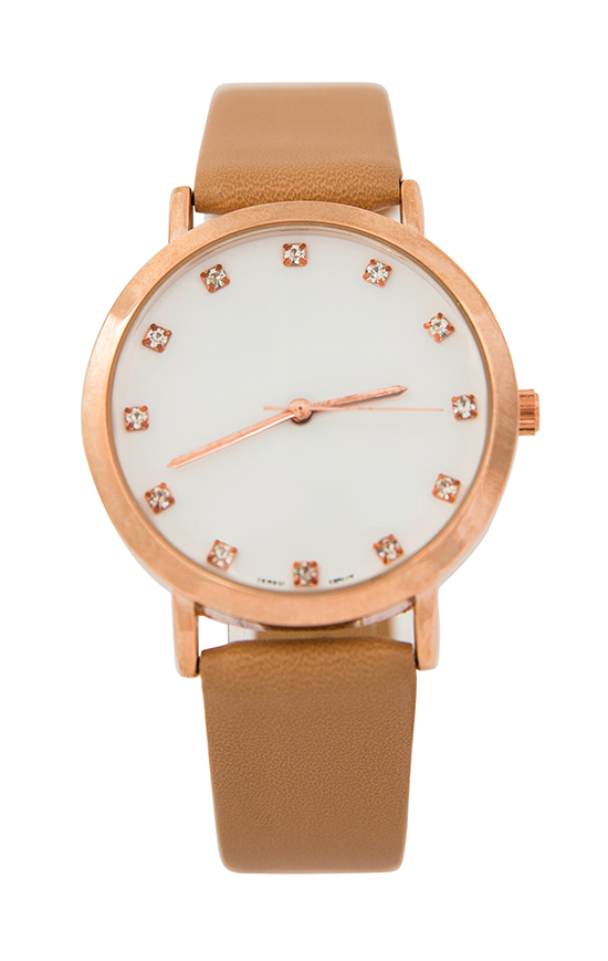 Slim Stone Dial Watch