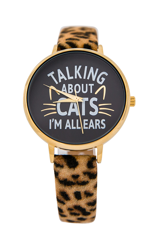 Talking About Cats Watch