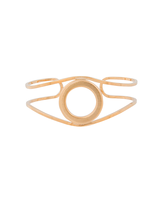 Circle and Line Cuff