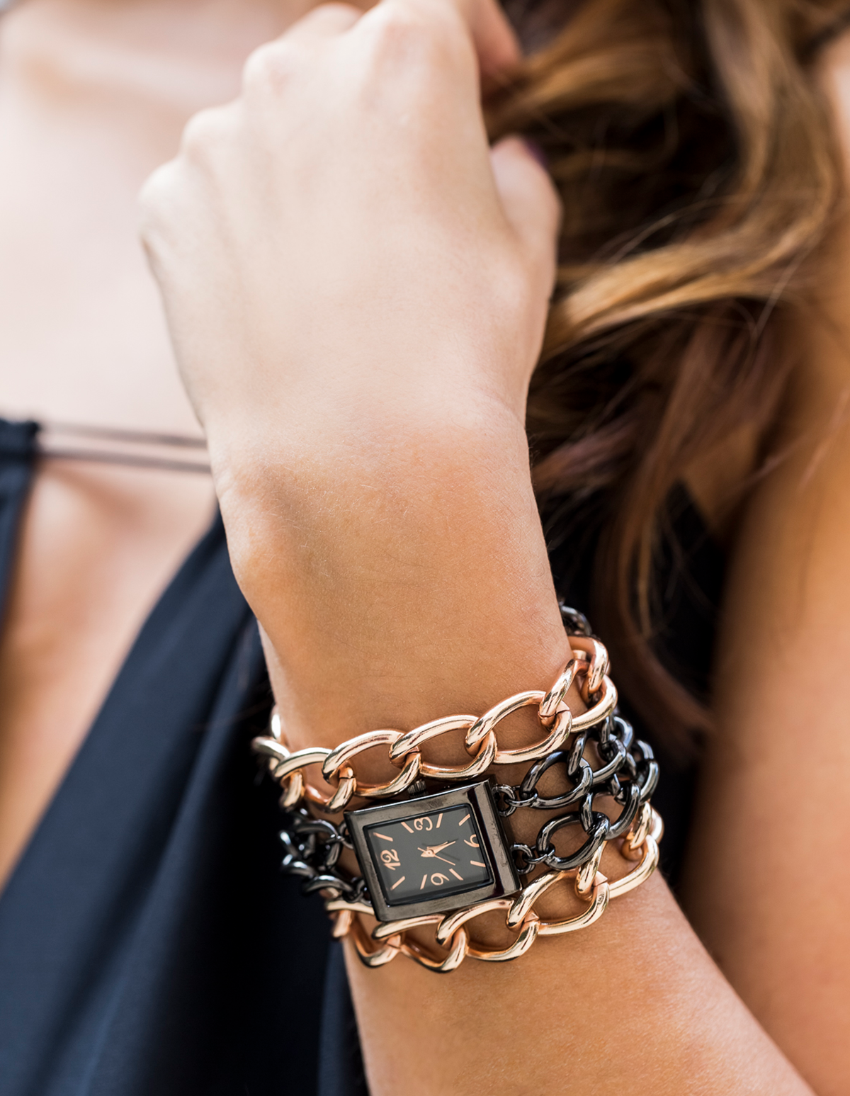 Chain Watch Bracelet