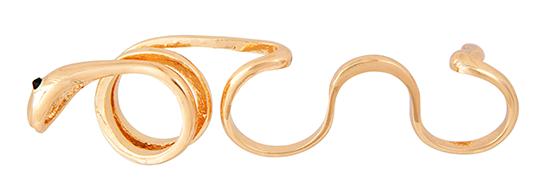 Snake Knuckle Ring