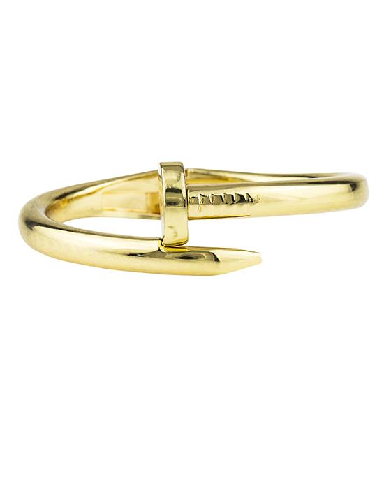 Gold Metal Nail Cuff