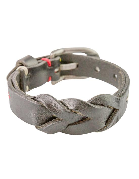 Braded Belt Bracelet