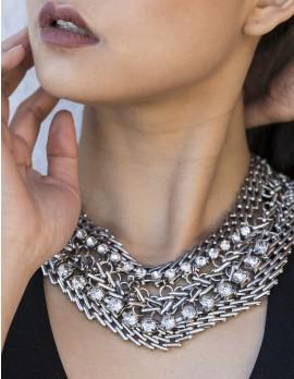 Women's Chainlink Statement Necklace