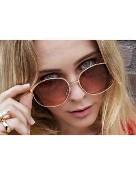 Novelty Frame Ombre Glasses