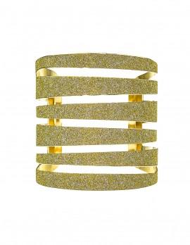 Glitter Cage Cuff