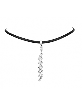 Rectangle Dangle Choker