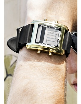Square Face Tech Watch