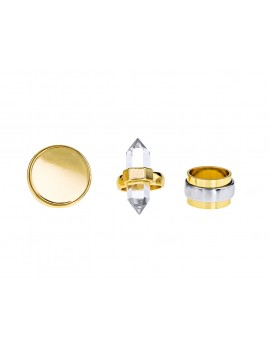 Geometric Statement Rings- Set of 3
