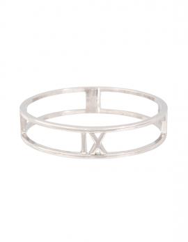 Roman Numeral Cut-Out Bracelet