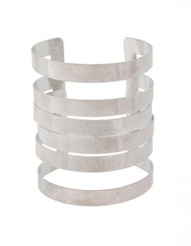 Layered Cage Cuff Bracelet