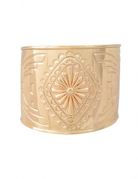 Floral Engraved Cuff