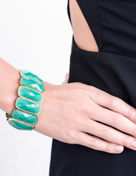 Faux Stone Bracelet