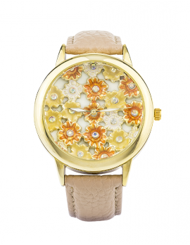 Daisy Banded Watch