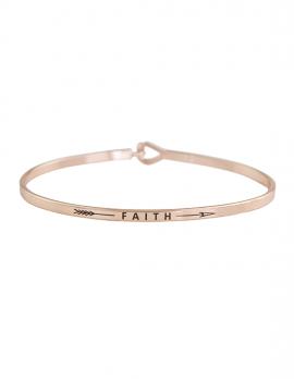 Skinny Faith Bracelet