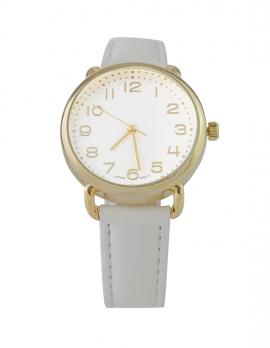 Chic White Watch