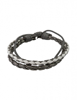 Black and White Double Bracelet