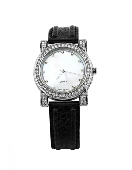 Rhinestone Accent Watch