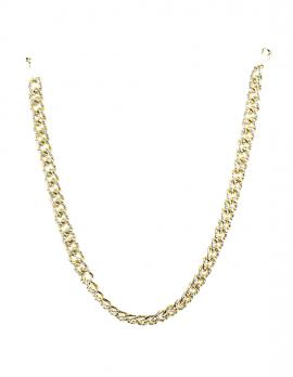 Faux-Rhinestone Link Necklace