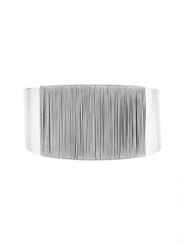 Silver Wire Cuff Bracelet